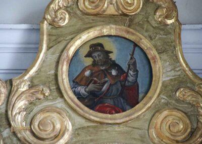 Seitenaltar in der St.-Antonius-Kapelle in Schrezheim