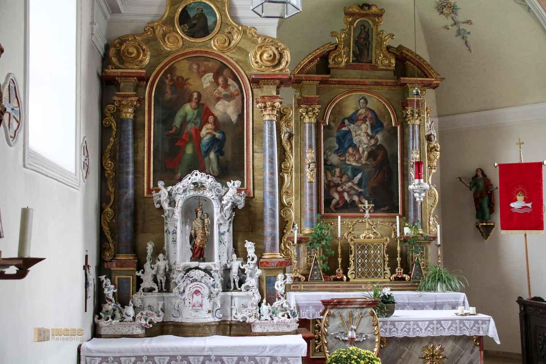 Altäre St.-Antonius-Kapelle in Schrezheim