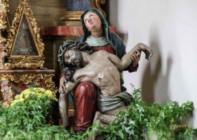 Pietà in der St.-Antonius-Kapelle in Schrezheim