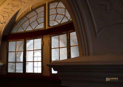 Fürstenloge Schlosskapelle St. Wendelin im Schloss ob Ellwangen