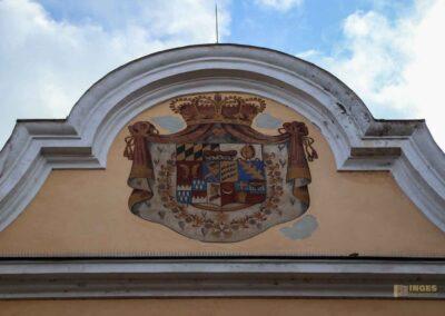 Innenhof Schloss ob Ellwangen