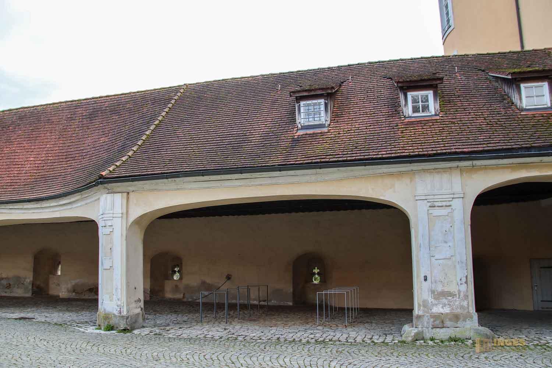 Remise im Schloss ob Ellwangen