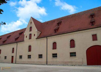 Stallung Schloss ob Ellwangen
