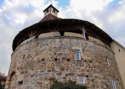 Torbastei Schloss ob Ellwangen