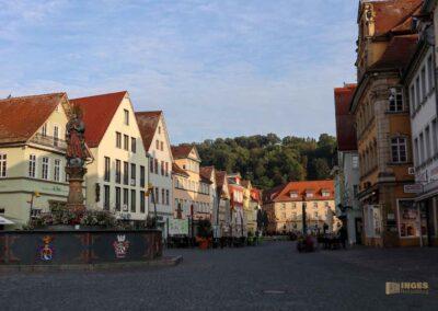Unterer Marktplatz in Schwäbisch Gmünd