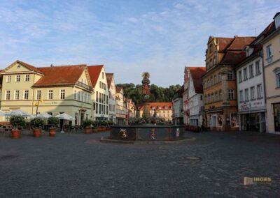 Marktplatz in Schwäbisch Gmünd