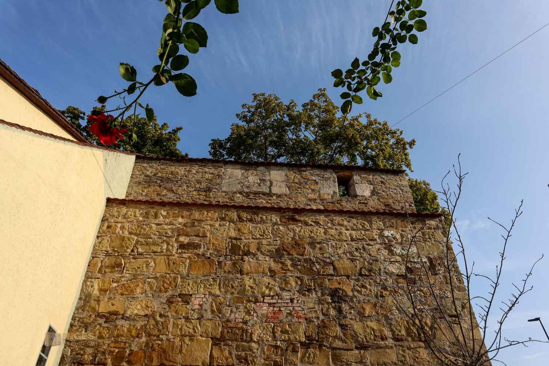 Stadtmauer in Schwäbisch Gmünd
