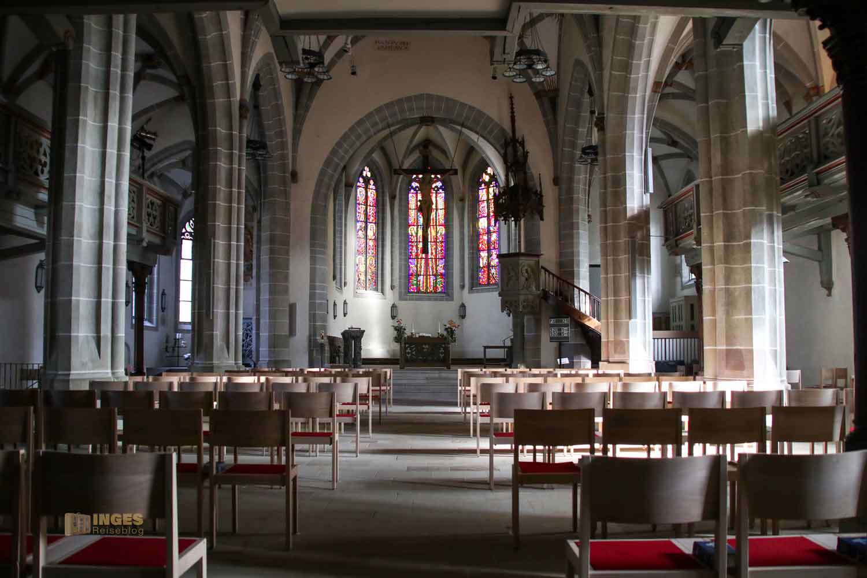 Innenansicht Michaelskirche Waiblingen 0788