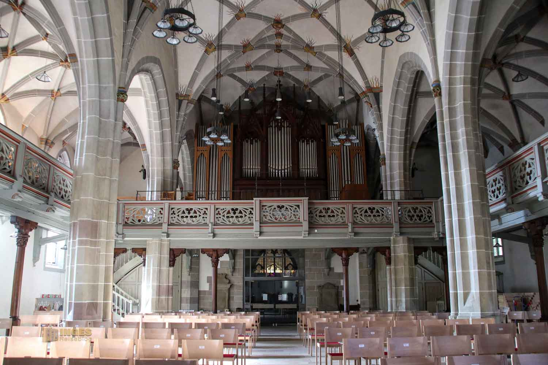 Innenansicht Michaelskirche Waiblingen 0849