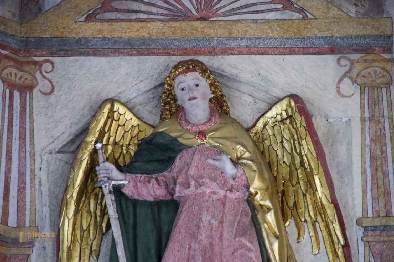 Relief Hl. Michael Michaelskirche Waiblingen 0835