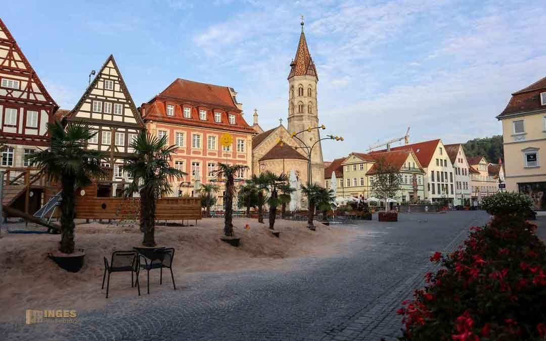 In der ältesten Stauferstadt Schwäbisch Gmünd