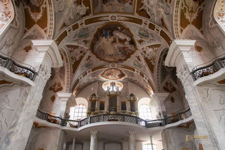 Evangelische Stadtkirche in Ellwangen