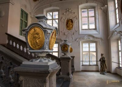 Treppenhaus Schloss ob Ellwangen