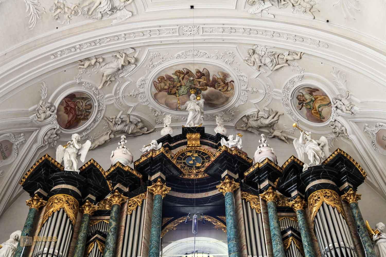 Orgel in der Wallfahrtskirche Schönenberg bei Ellwangen