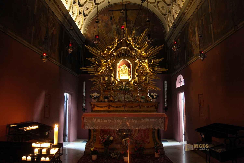Loreto-Kapelle in der Wallfahrtskirche Schönenberg bei Ellwangen