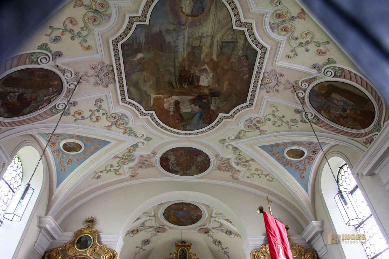 Deckenfresken St.-Antonius-Kapelle in Schrezheim