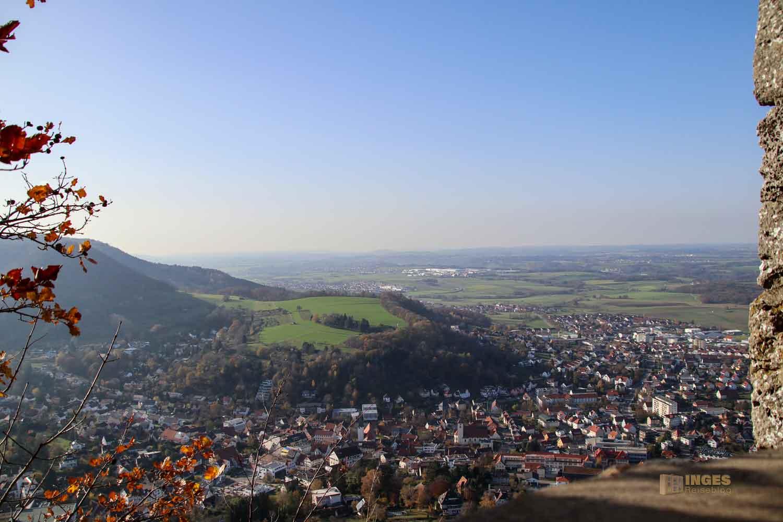 Ausblicke von der Ruine Rosenstein 1119