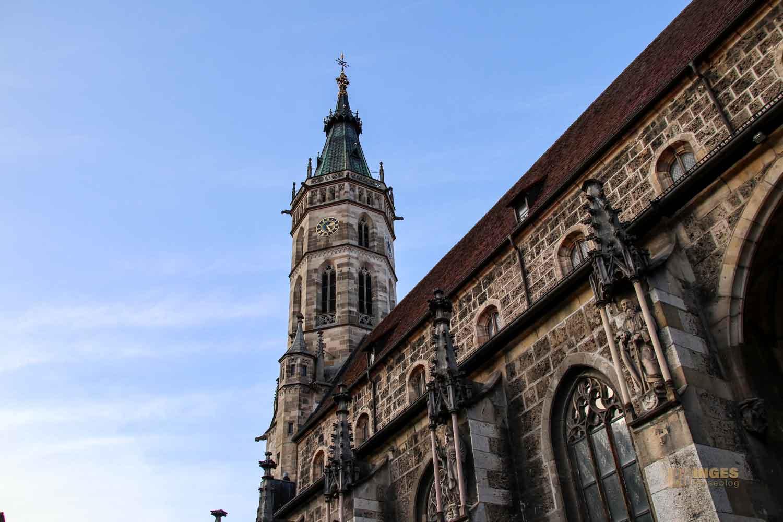 Außenansicht Stiftskirche St. Amandus Bad Urach 0714