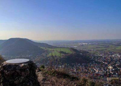 Blick vom Rosenstein bei Heubach