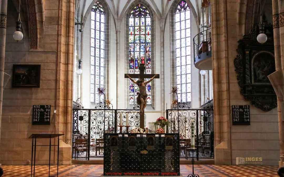 In der Stiftskirche St. Amandus in Bad Urach