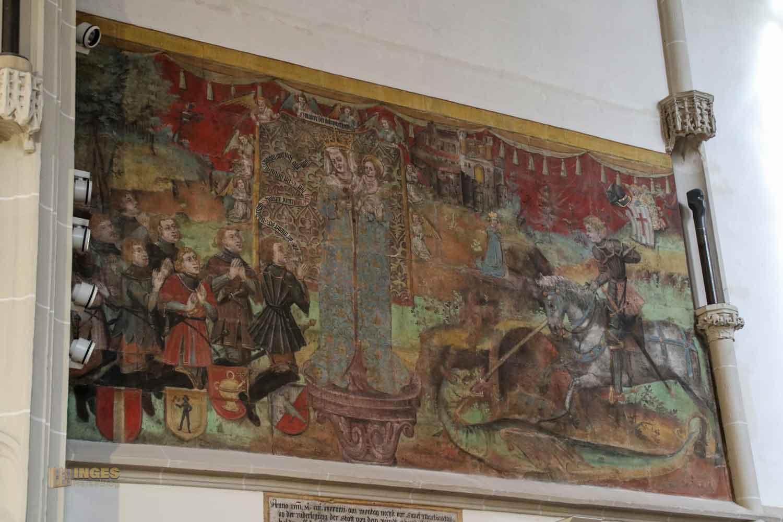 Chorbild in der Oberhofenkirche Göppingen 0204