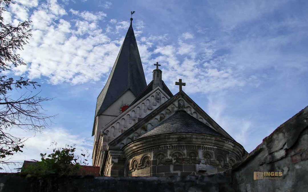 In der Stiftskirche in Faurndau