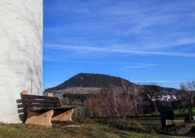 Blick von der Marienkapelle Wißgoldingen auf den Stuifen