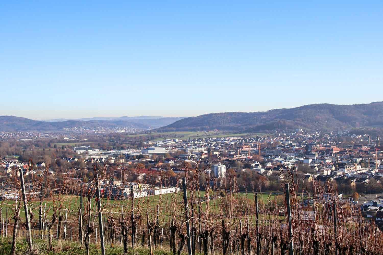 Blick auf Schorndorf