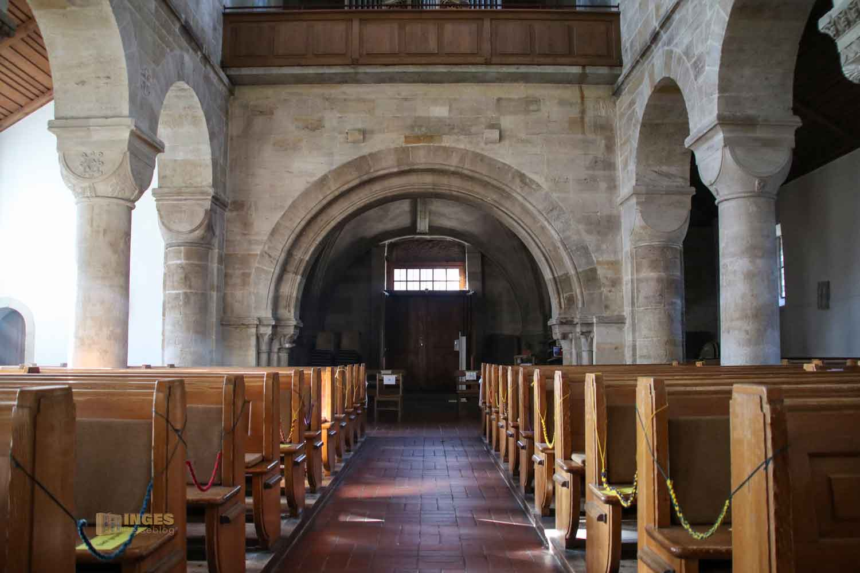 Innenansicht Stiftskirche Faurndau 0552