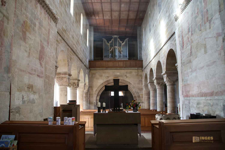 Innenansicht Stiftskirche Faurndau 0586