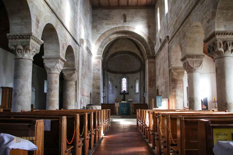 Innenansicht Stiftskirche Faurndau 0641