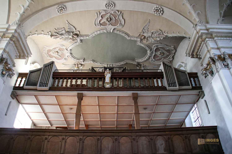 Orgel Wallfahrtskirche Hohenrechberg 0563
