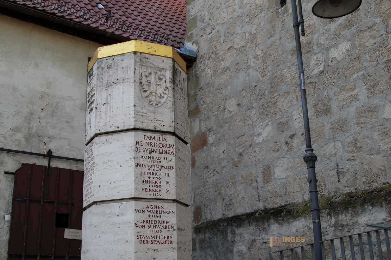 Stauferstele in Waiblingen 0554