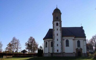 Die Wallfahrtskirche St. Maria auf dem Hohenrechberg