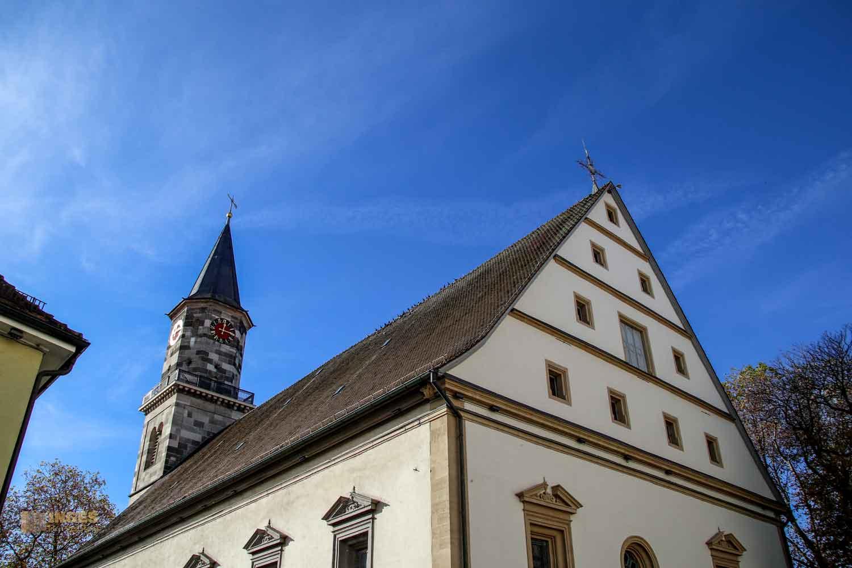 Außenansicht evang. Stadtkirche Göppingen 0270