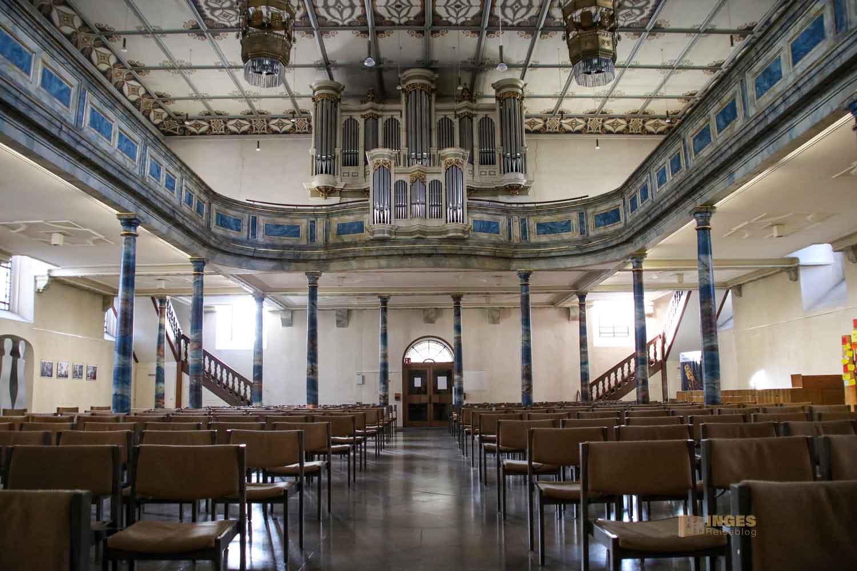 Innenansicht Evang. Stadtkirche Göppingen 0442