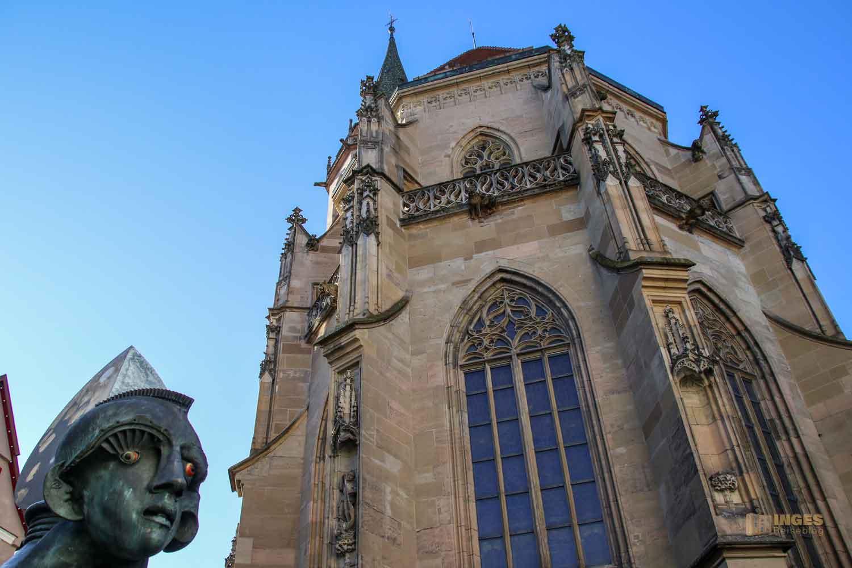 Mondscheinbrunnen und Stadtkirche Schorndorf 0365
