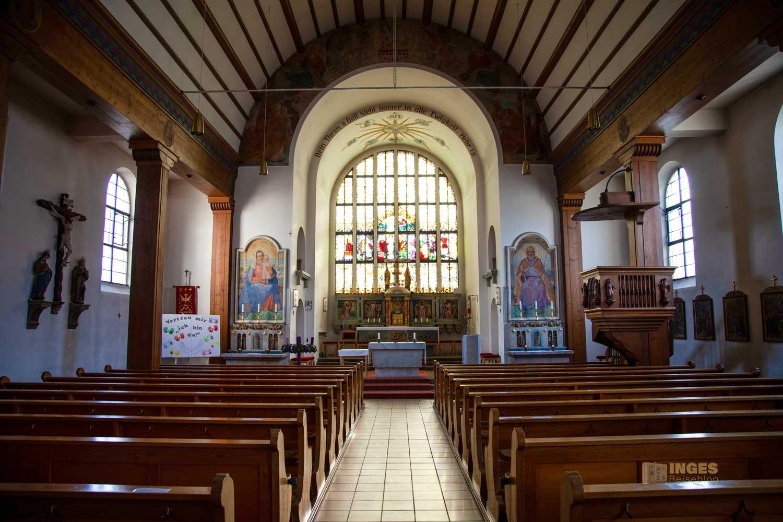 Pfarrkirche Wißgoldingen Innenansicht 0093