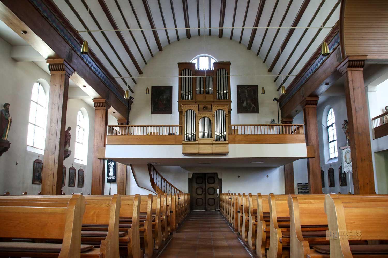 Pfarrkirche Wißgoldingen Innenansicht 0291