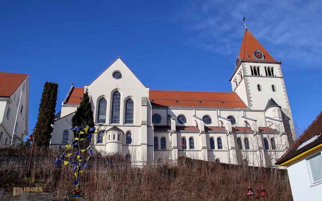 Die St. Laurentiuskirche in Waldstetten