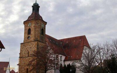Die St. Johannes Baptist Kirche in Wißgoldingen
