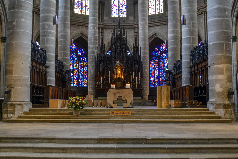 Hl.-Kreuz-Münster innen Schwäbisch Gmünd 0705