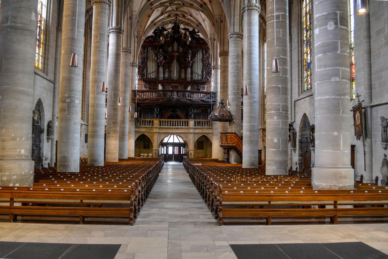 Hl.-Kreuz-Münster innen Schwäbisch Gmünd 0717