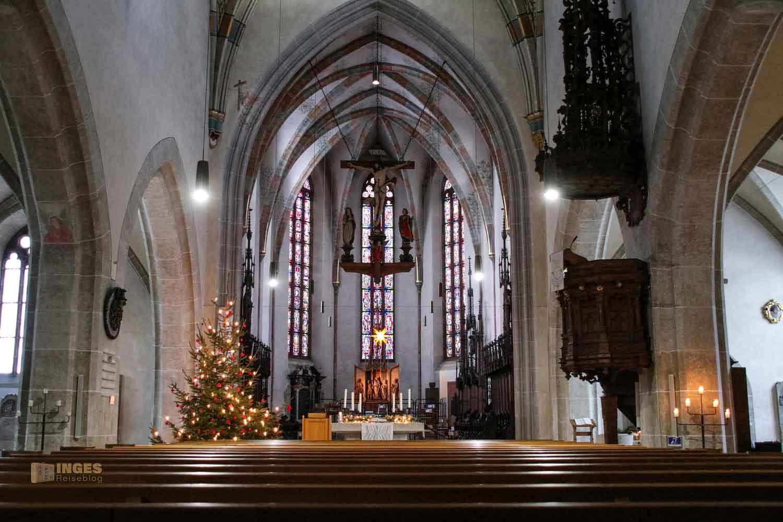 Innenansicht evang. Stadtkirche Geislingen 0343