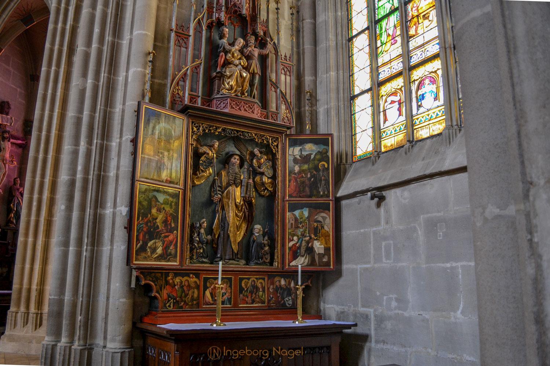 Sebaldusaltar Hl-Kreuz-Münster Schwäb. Gmünd 0731