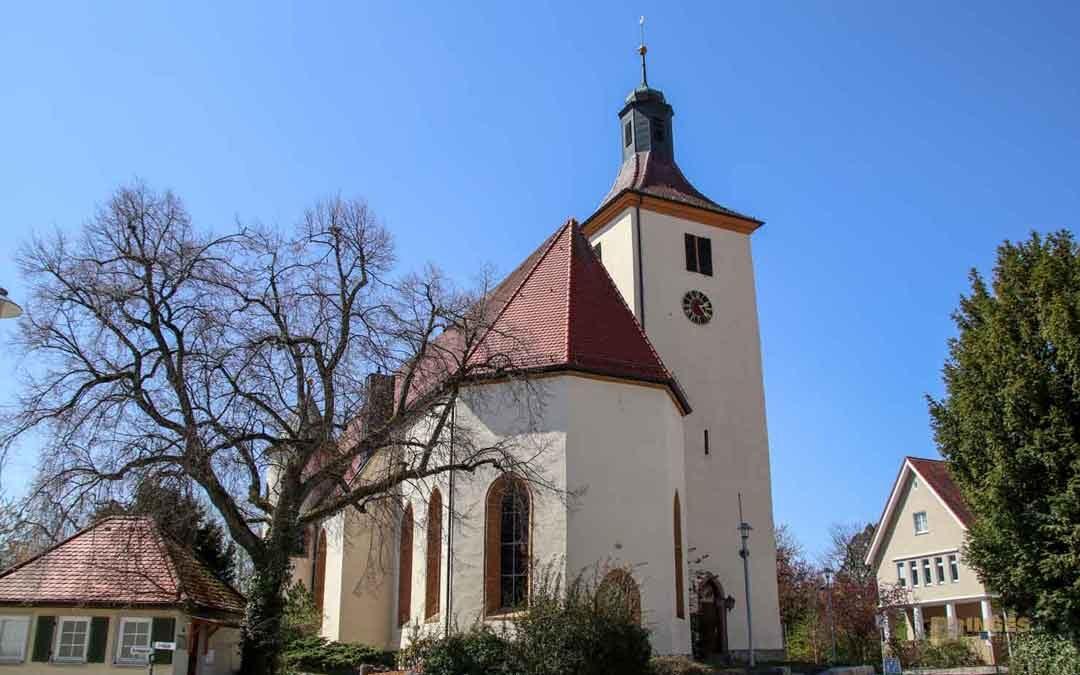In der evangelischen Kirche in Essingen