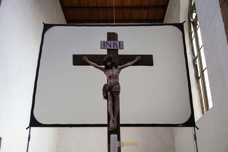 Kruzifix evang. Stiftskirche Bad Boll 1952