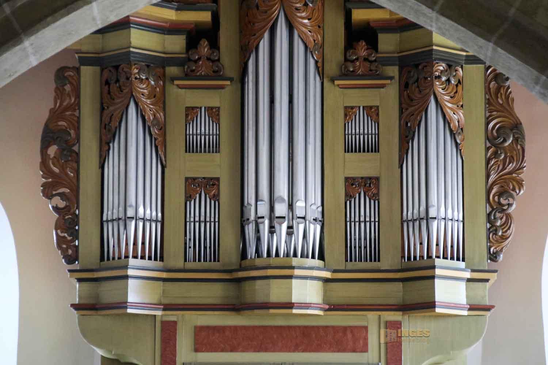 Orgel evang. Kirche Essingen 2633