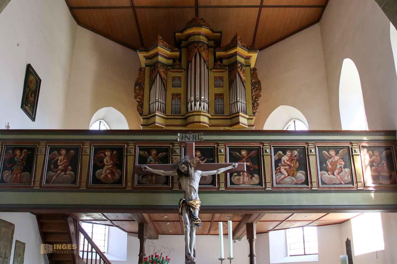 Orgel evang. Kirche Essingen 2705