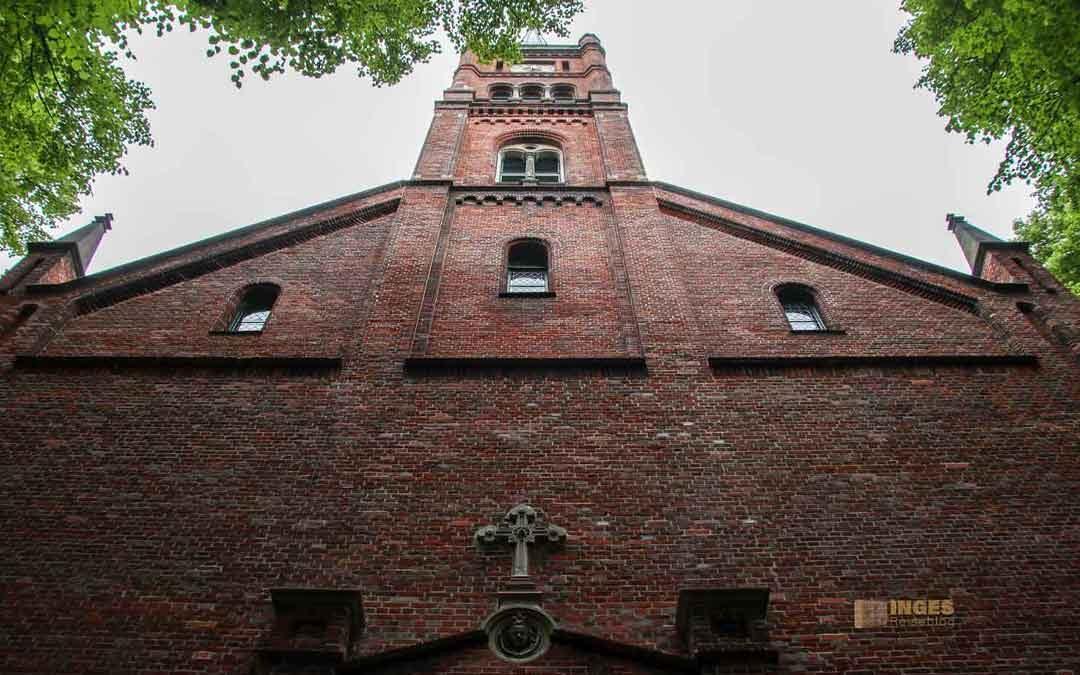 In der St. Pauli Kirche im Hamburger Kiez